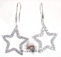 Star Earrings 5 Stone