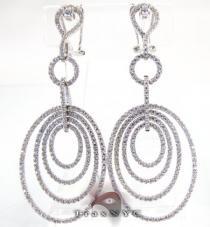 Swirl Earrings Stone