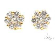 Sterling Silver Earrings 41295 Metal