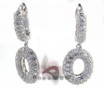 Loop Earrings レディース ダイヤモンドイヤリング