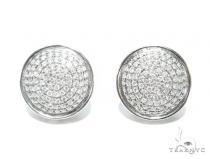 Prong Diamond Earrings 41755 Mens Diamond Earrings