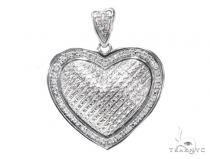 Prong Diamond Heart Pendant 41793 Style