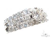 Prong Diamond Engagement Ring Set 41856 Engagement