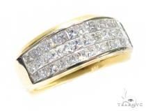 Invisible Diamond Anniversary/Fashion Ring 41828 Mens Diamond Wedding Bands