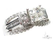 Invisible Diamond Engagement Ring 41879 Engagement