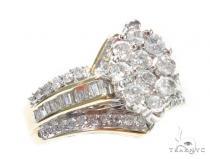 Anthurium Diamond Engagement Ring 41933 Engagement