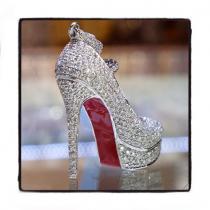 Diamond Stiletto Pendant 36474 Stone