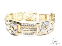 Gold Bracelet 41982 Gold Mens Bracelets