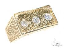 Bezel Diamond Ring 42012 Stone