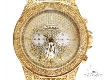 Yellow Stainless Steel Jojino MJ-1006 Watch Affordable Diamond Watches