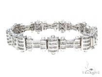 Channel Diamond Bracelet 42114 Diamond
