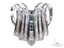 Channel Diamond Pendant 42130 Metal