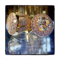 Queen Lady Diamond Ring ダイヤモンド 婚約 結婚指輪