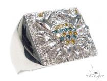 Prong Colored Diamond Ring 42142 マルチカラー ダイヤモンド リング