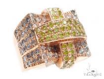 Prong Colored Diamond Ring 42147 マルチカラー ダイヤモンド リング