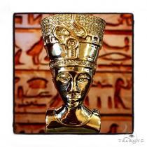 Nefertiti Diamond Pendant Metal