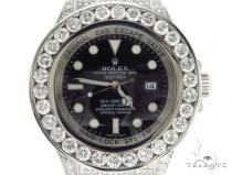 Pave Diamond Rolex Deepsea Watch 42352