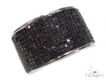 Prong Black Diamond Ring 42393 Mens Black Diamond Rings
