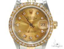 Rolex Datejust Yellow Gold 6917 ロレックス ダイヤモンド コレクション
