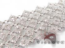 Iced Linked Bracelet Diamond