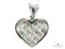 Invisible Heart Diamond Pendant 42400 Style