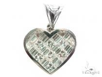 Invisible Heart Diamond Pendant 42400 Style