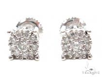 Prong Diamond Stud Earrings 42445 Mens Stud Earrings