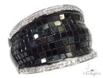 Invisible Black Diamond Ring 42478 Mens Black Diamond Rings