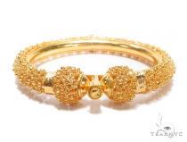 22k Yellow Gold Bangle Bracelet 42502 Bangle