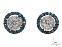 Prong Diamond Earrings 42515 Mens Diamond Earrings