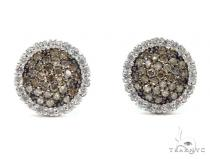 Prong Diamond Earrings 42510 Stone