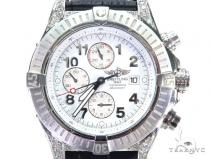 Pave Diamond  Breitling Watch 42541 Breitling