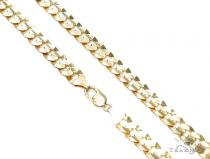 Cuban/Curb Gold Chain 28 Inches 11mm 130.7 Grams 42555 Gold Chains