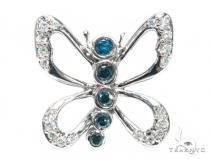 Butterfly Diamond Pendant 42580 Stone