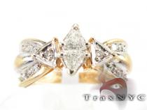 Triangle Ring Diamond Wedding Rings