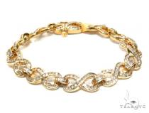 Channel Diamond Bracelet 42650 Diamond