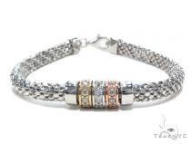 Sterling Silver Bracelet 42672 Silver