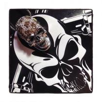 Prong Diamond Skull Pendant 42532 Style
