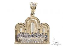 10K Gold Last Supper Pendant Gold Pendants