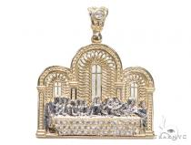 Last Supper Gold Pendant Gold Pendants