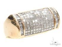 Invisible Diamond Ring 42703 Mens Diamond Rings