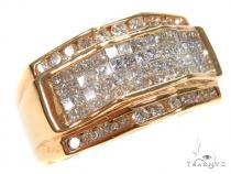 Invisible Diamond Ring 42704 Mens Diamond Rings