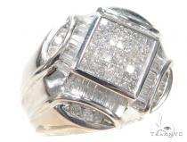 Invisible Diamond Ring 42707 Mens Diamond Rings