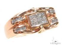Invisible Diamond Ring 42708 Mens Diamond Rings