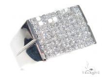 Invisible Diamond Ring 42715 Mens Diamond Rings