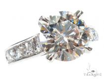 Solitaire Diamond Platinum Engagement Ring 42901 Engagement