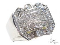 Invisible Diamond Ring 42717 Mens Diamond Rings