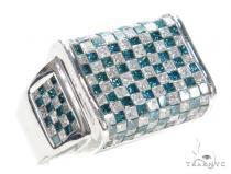 Invisible Diamond Ring 42718 Mens Diamond Rings
