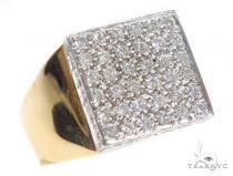 Prong Diamond Ring 42725 Mens Diamond Rings