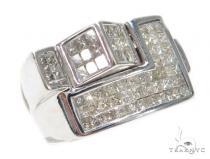 Invisible Diamond Ring 42734 Mens Diamond Rings